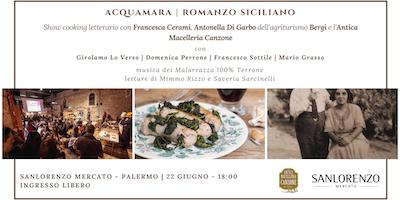 Acquamara | Show cooking letterario