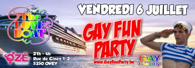 Gay Fun Party - The Love Boat (2nd edition)