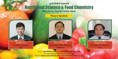3rd Global Summit on Nutritional Science & Food Chemistry - 2019