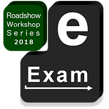 Transforming Exams - e-Exams Roadshow Workshops logo