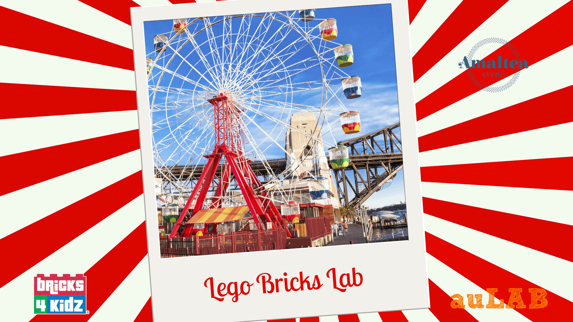Lego Bricks Lab a tema Luna Park