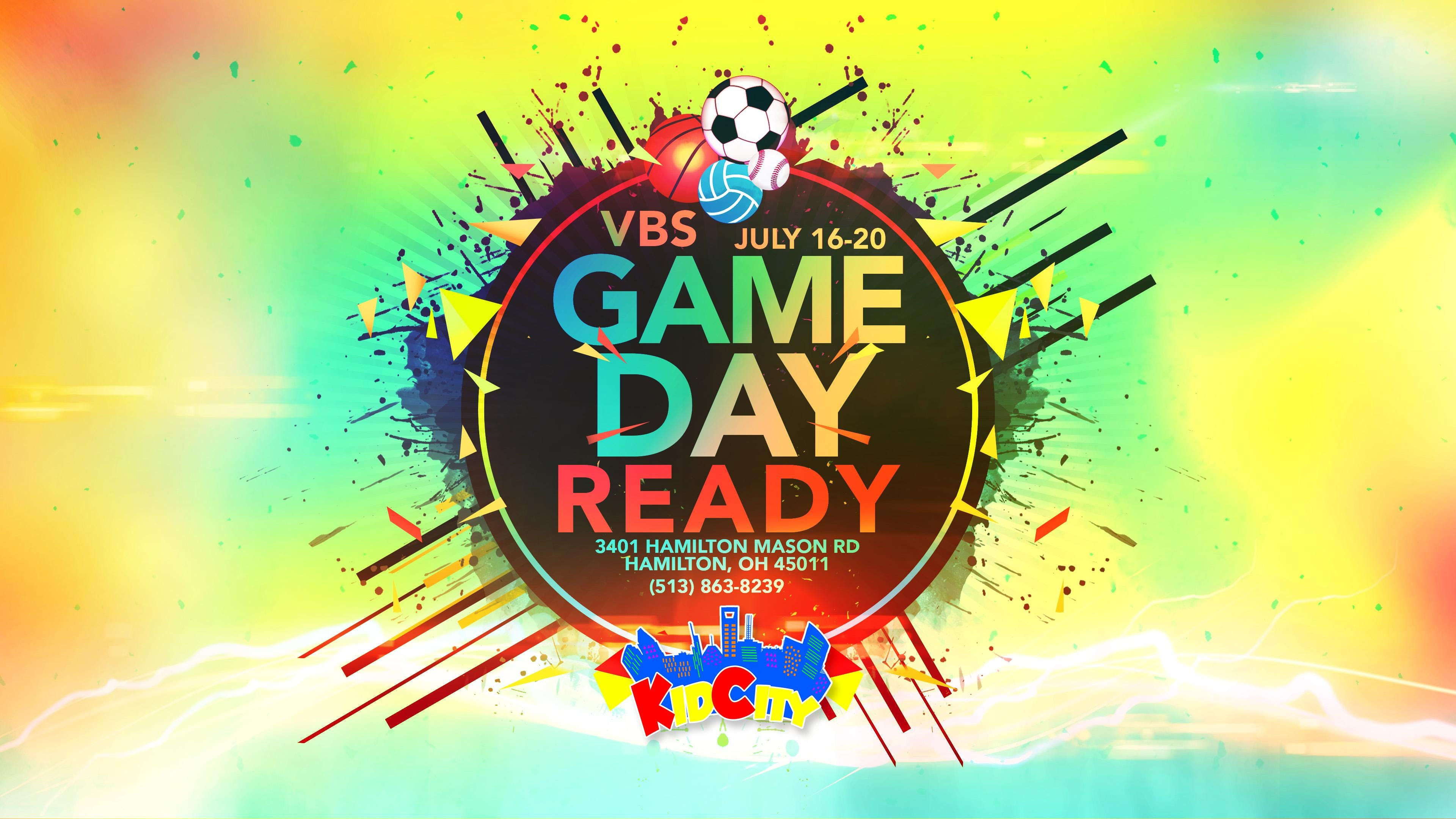 KidCity's Vacation Bible School: Game Day Rea