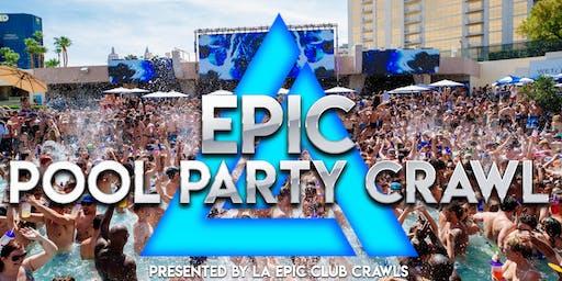 Epic Sin City Pool Crawl