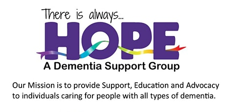 HOPE a dementia support group tickets