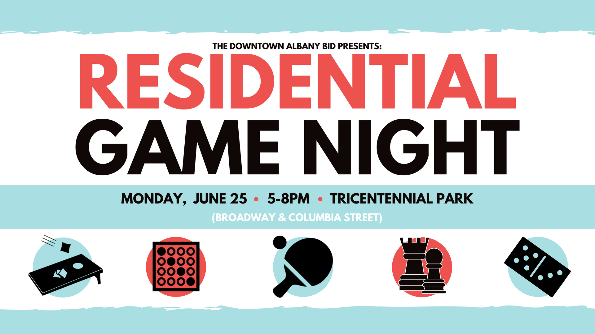 Downtown Albany Residential Game Night
