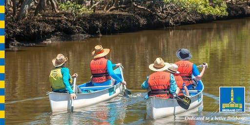 Canoe Discovery- Nudgee Beach Reserve