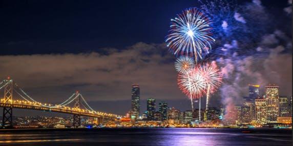 San Francisco 4th of July 2018 Fun Fireworks