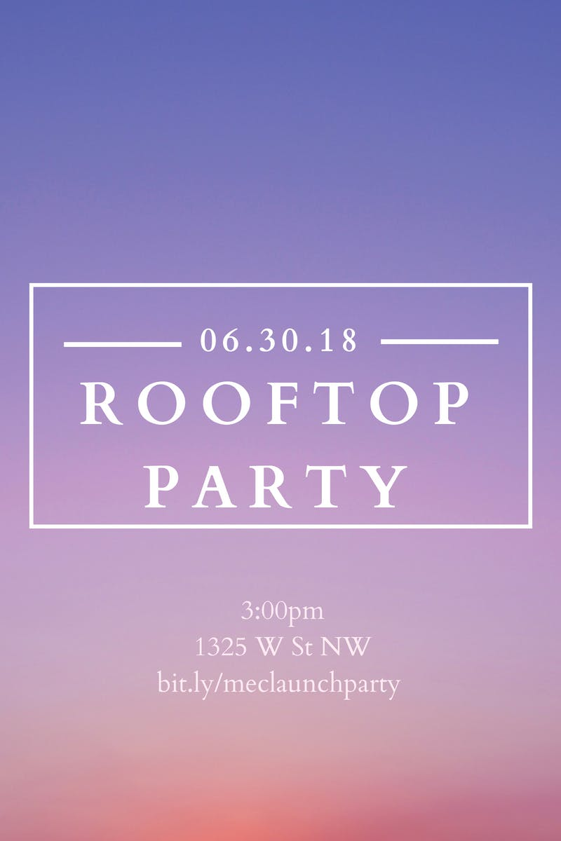 Rooftop Launch Party