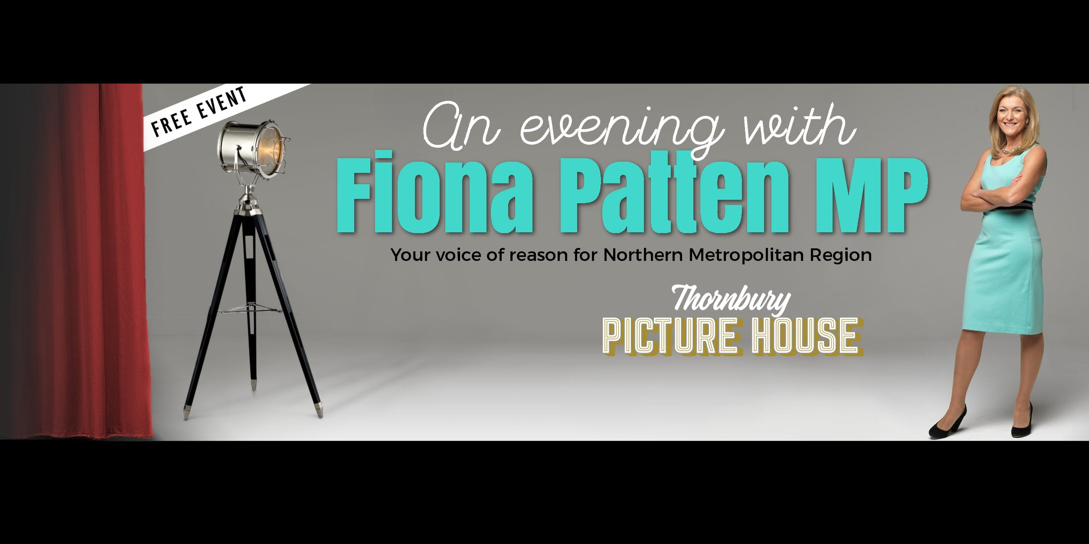An evening with Fiona Patten MP
