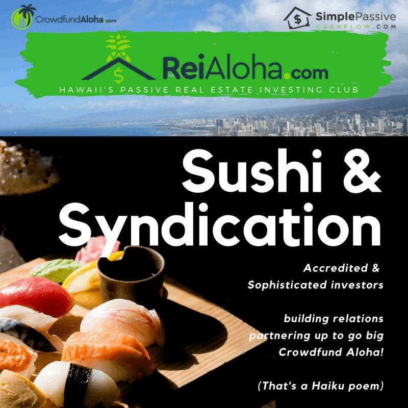 Sushi & Syndication Dinner