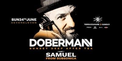 DOBERMAHN // SAMUEL (SUBSONICA) DJSET // TERRAZZAMARE