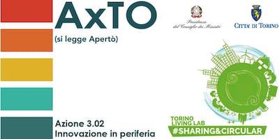 TO Living Lab AxTO - Azione 3.02. Presentazione in +Spazio4 – Casa del Quartiere