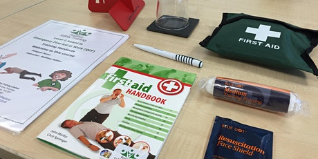 Level 3 Award in Emergency First Aid at Work (RQF) 1 day including lunch tickets