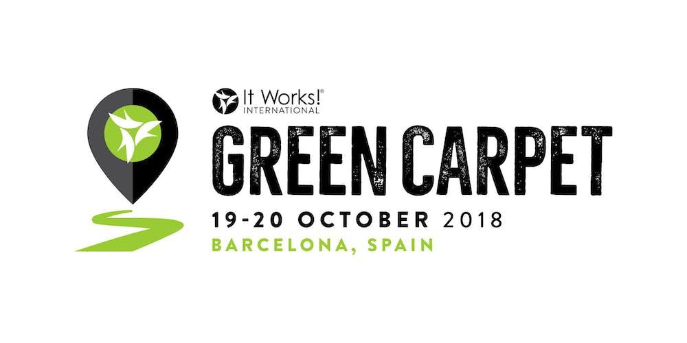 It Works International Green Carpet 2018 Barcelona Spain