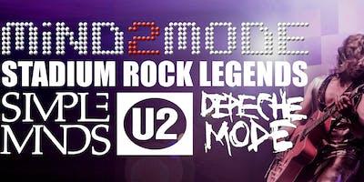 Mind2Mode - Tribute to Depeche Mode-U2-Simple Minds, Support - microClocks