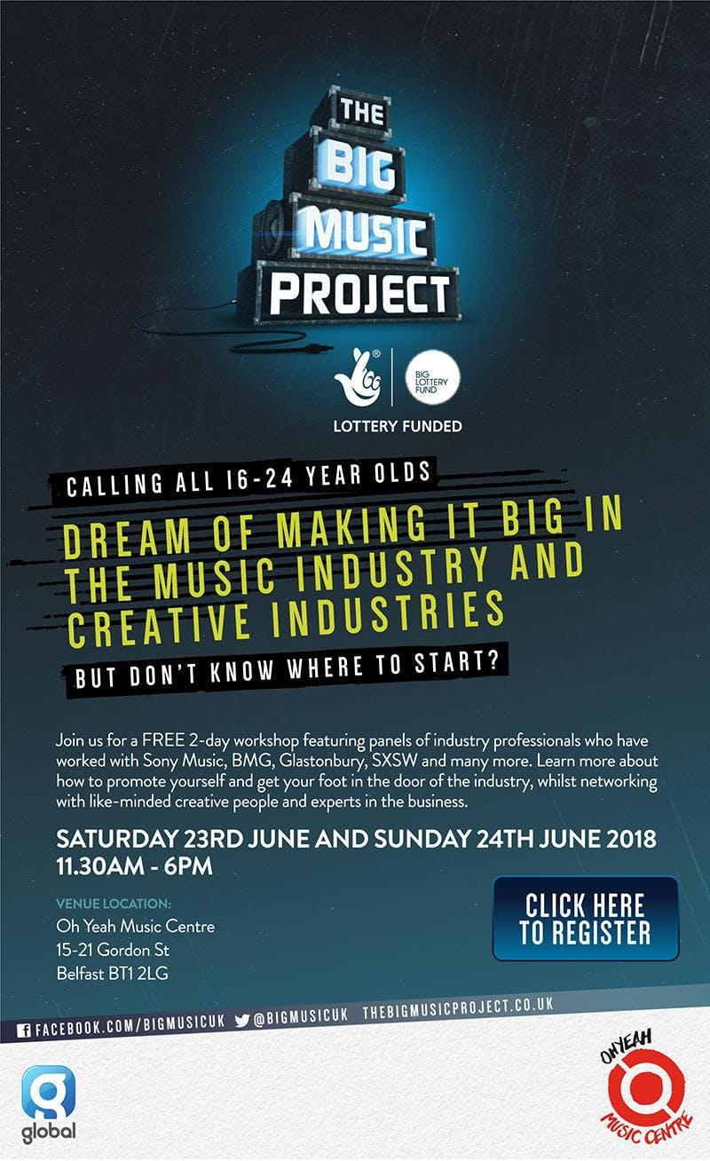 The Big Music Project XPOSED Regional Workshops