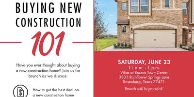 Purchasing New Construction 101 with D.R. Horton