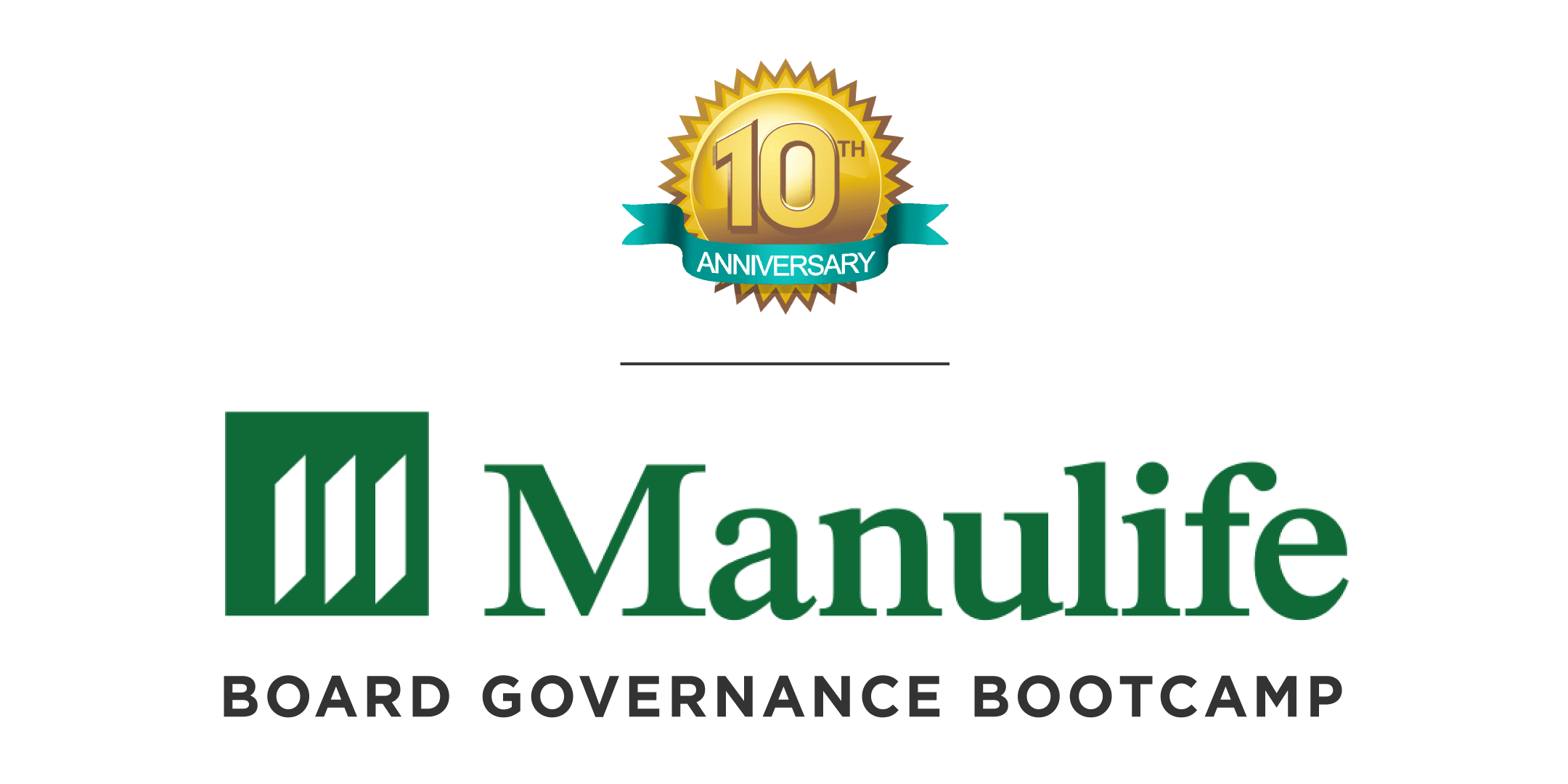 Manulife Board Governance BootCamp - 10th Ann
