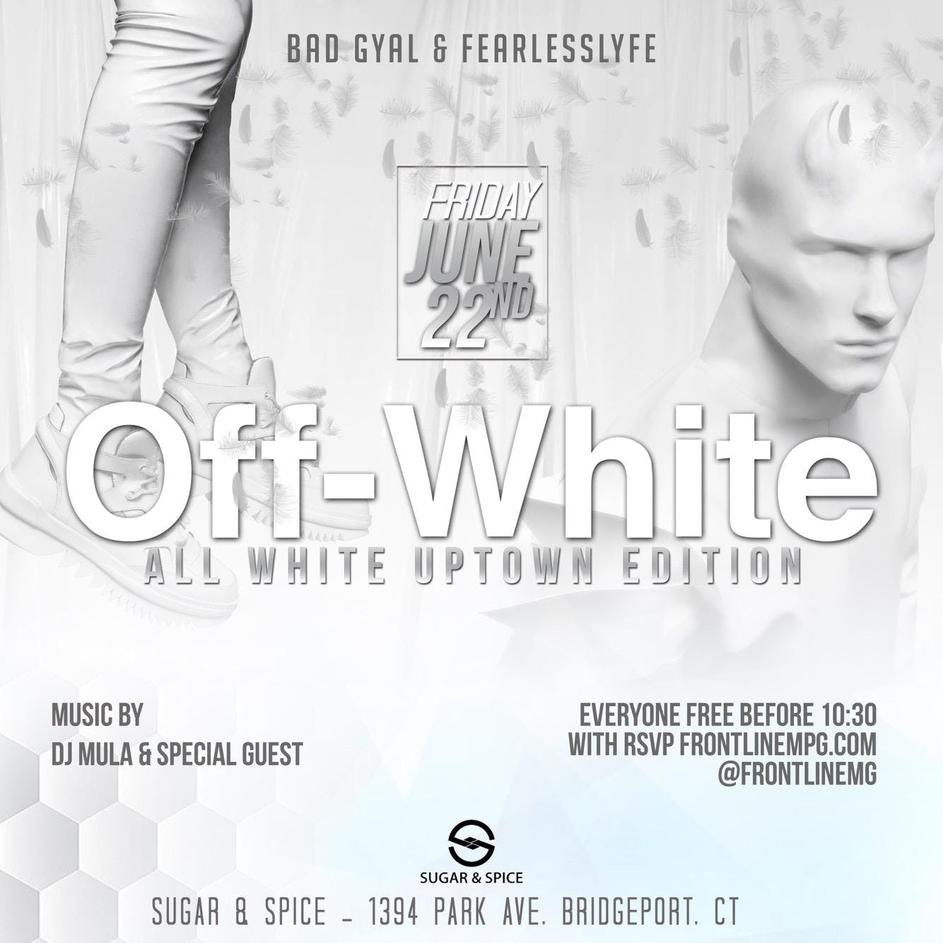 OFF WHITE (All White Party )