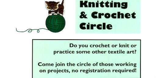 Cicero Library Knitting & Crochet Circle
