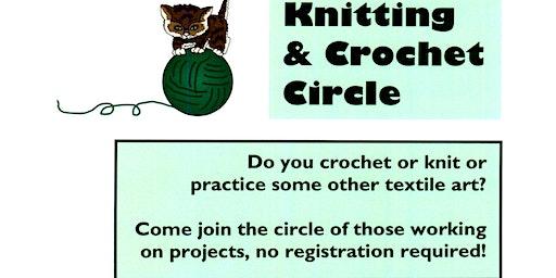 Cicero Library Knitting & Crochet Circle