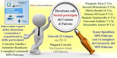 Team Open Data Discutiamo delle Società Partecipate del comune di Palermo