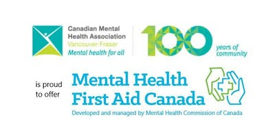 Mental Health First Aid - Adults who interact with Youth (New Westminster)