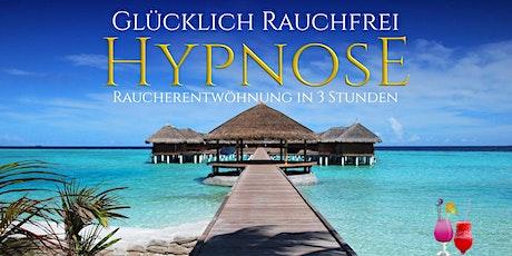 Glücklich Rauchfrei! Raucherentwöhnung mit Hypnose in 3 Stunden inkl. Garantie* Tickets