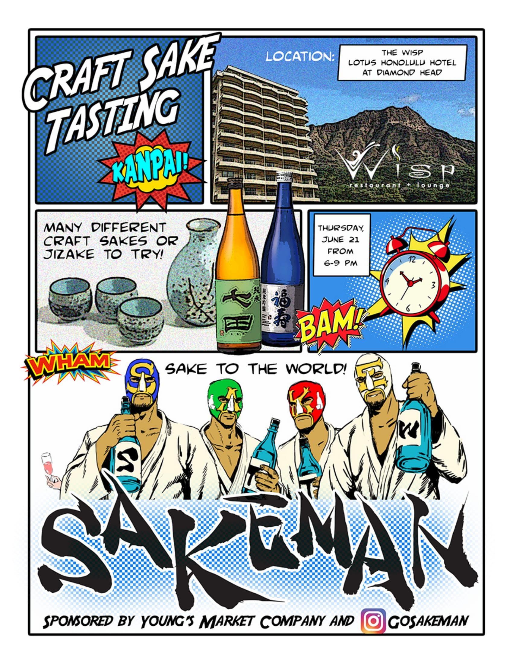 Sakeman Sake Tasting