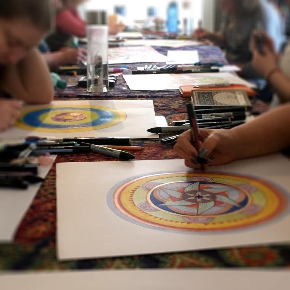 *Booked Out* Full Day Mandala & Meditation Workshop
