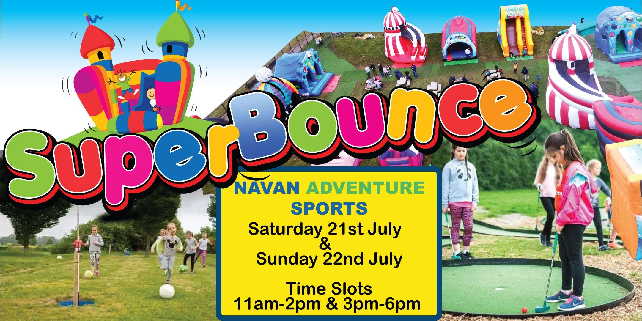 Navan SuperBounce Adventure Event