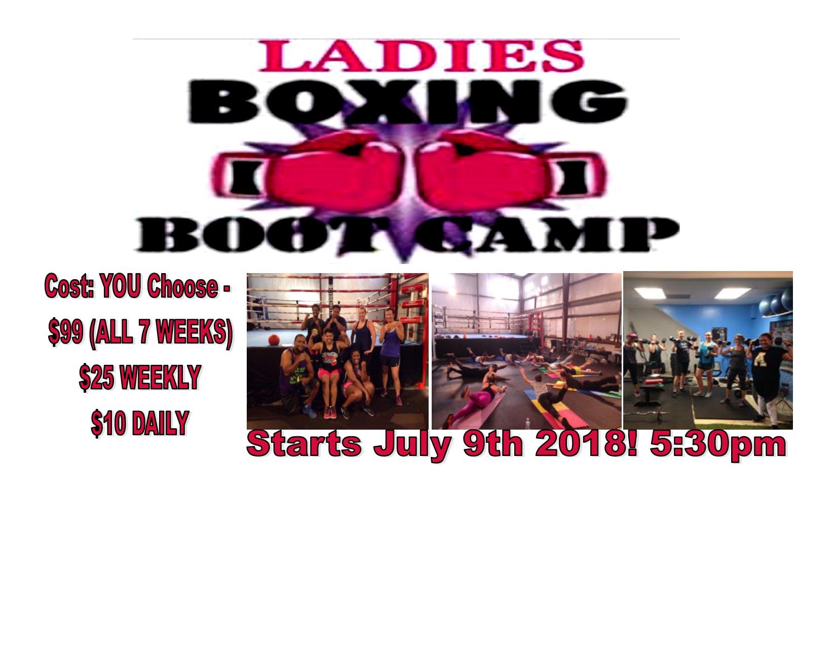 Ladies Boxing Boot Camp