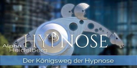 ALPHA HYPNOSE • Der Dialog der Seele • Der Königsweg der Hypnose Tickets