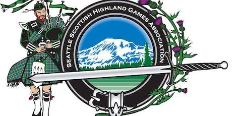 Seattle Scottish Highland Games Association 2019 Membership tickets