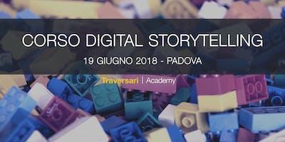 Corso Digital Storytelling con i Lego®. Dalla teoria alla pratica. Un workshop per comunicare bene e fin da subito.