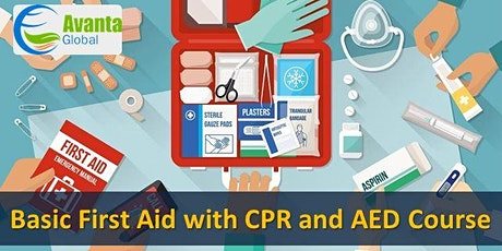 Basic First Aid with CPR and AED Course tickets