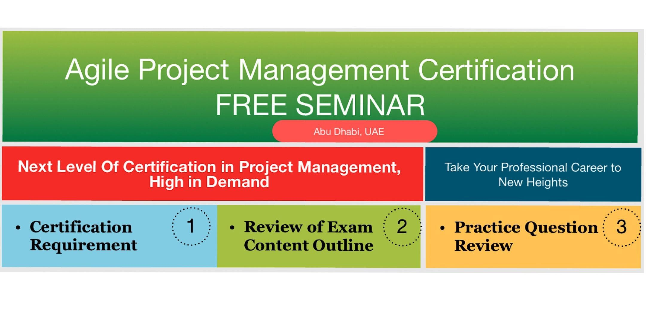 Agile Project Management Certification Seminar 29 Jun 2018