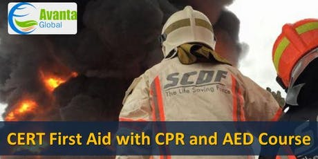 CERT First Aid with CPR and AED Course tickets