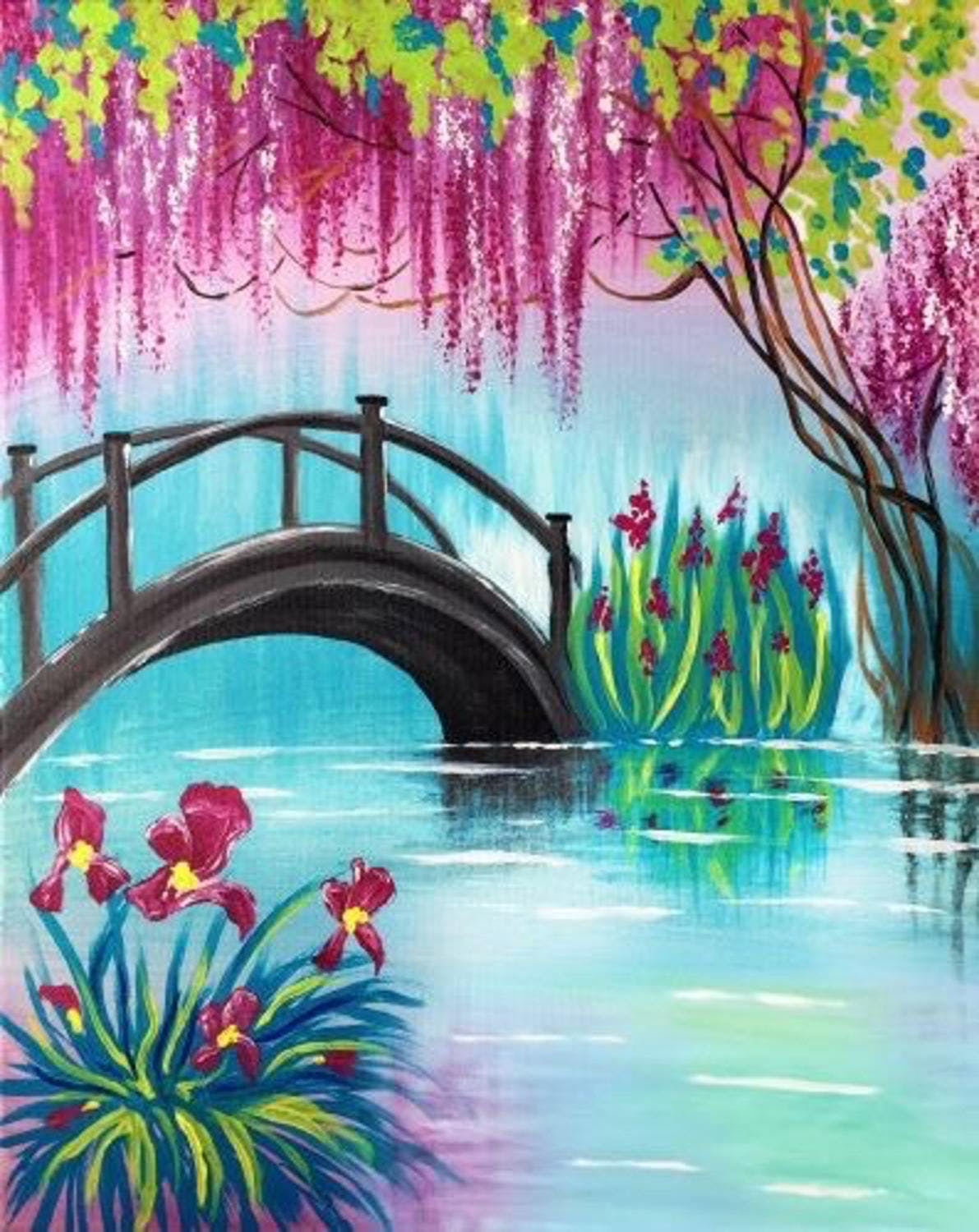 Social Painting Class - Reflection of Beauty