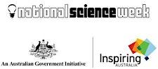 National Science Week and Inspiring Australia logo