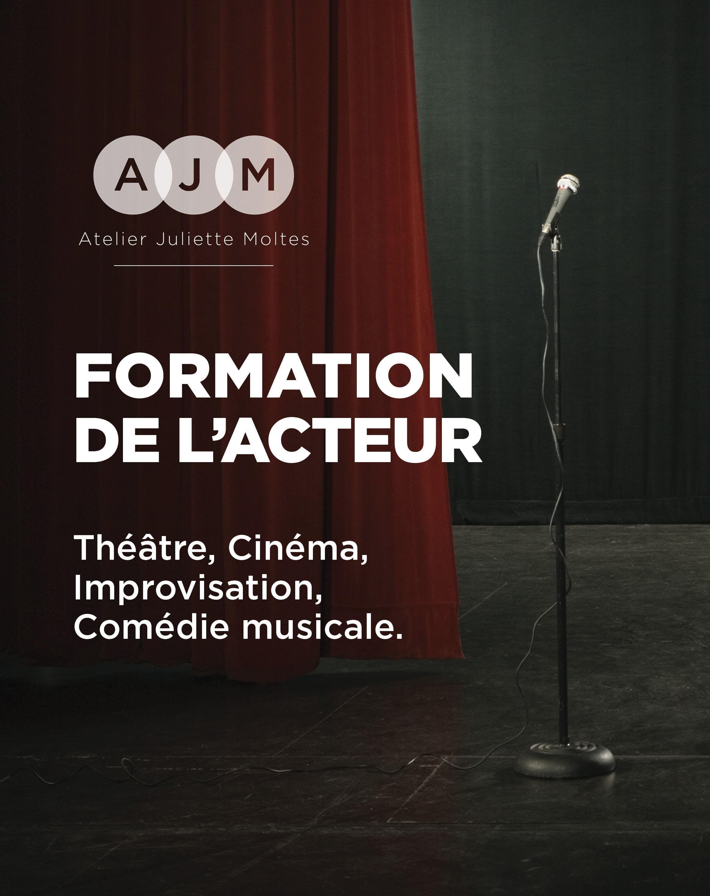 Ecole Atelier Juliette Moltes : Formation de l'acteur