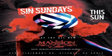 Sunday at The Mansion Elan tickets
