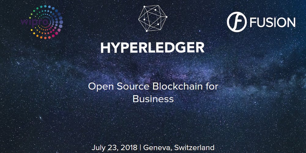 The First Geneva Hyperledger Meetup