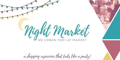 Fall Night Market 2018 Vendor Registration tickets