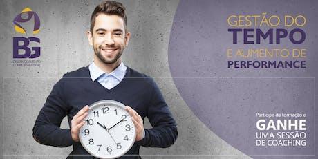 Formação: Gestão do Tempo e Aumento de Performance (Porto) bilhetes