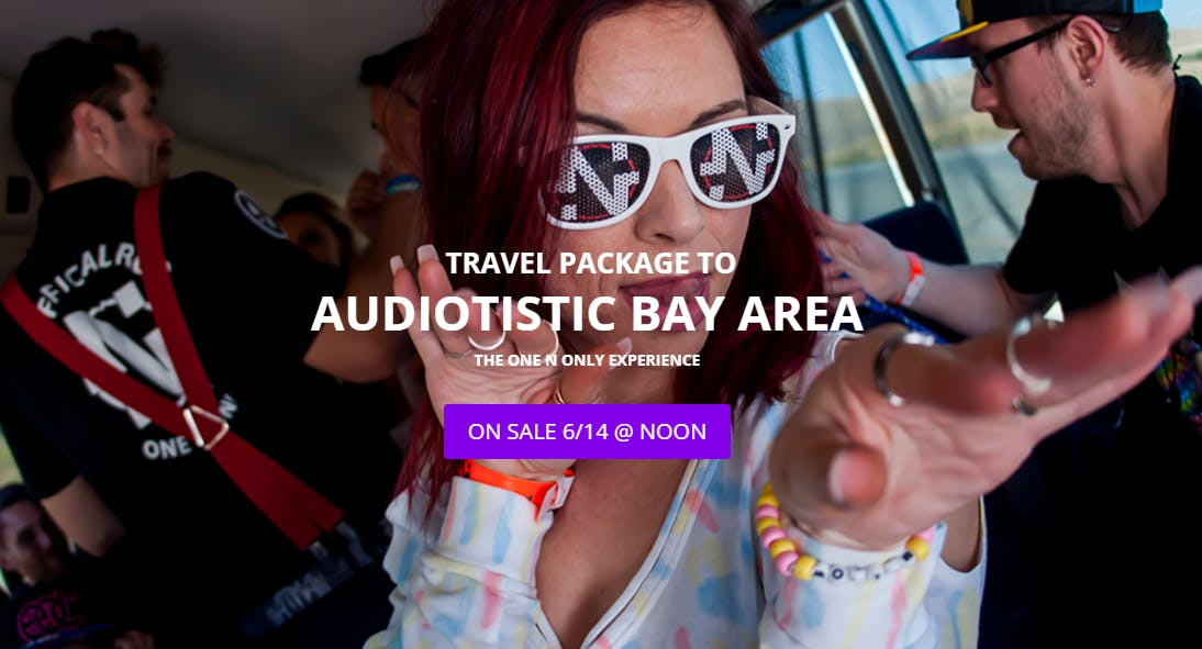 Audiotistic Hotel & Shuttle Package Experienc