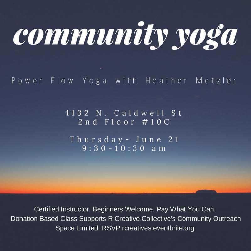 Power Flow Yoga w/ Heather