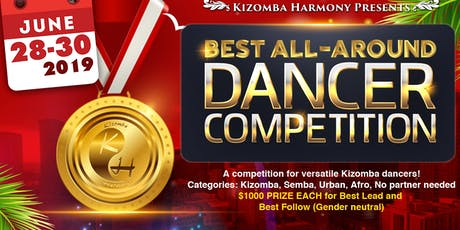 Kizomba Harmony Best All Around Dancer Competition and Weekender 2019 tickets