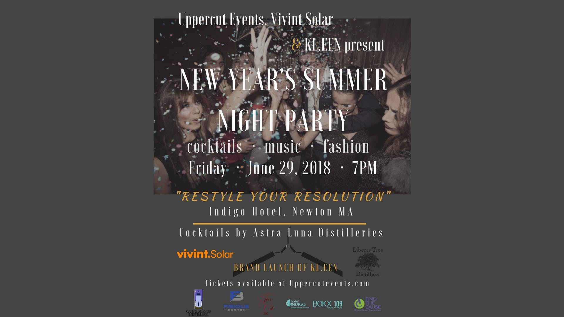 New Years Summer Night Party