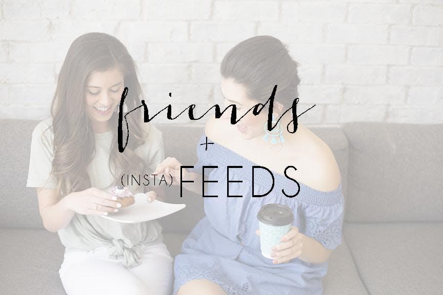 FRIENDS + FEEDS